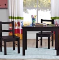 Toddler Table Set Dallas