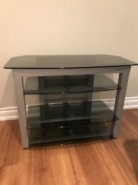 black glass top TV stand Toronto, M4L 1R6