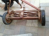 Antique-Vintage push lawnmower San Juan, 78589