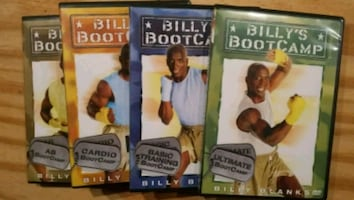 Billy's boot camp cds