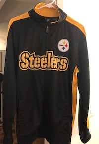 Black and yellow steelers jersey jacket  Riverside, 92504