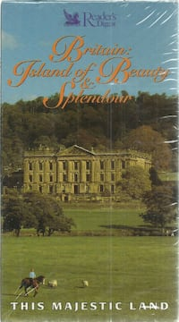vhs Britain: Where the Land Meets the Sea Britain's Island of Beauty & Splendor  Brand New - sealed