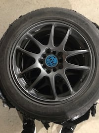 16 inch Rims and Tires Toronto, M2J 1L9
