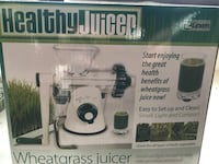 Wheatgrass Juicer- Brand New South-West Oxford, N5C