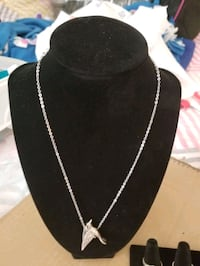 For Sale Solid Silver Necklace and Pendant