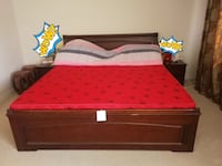 solid wood king plus size bed Vaughan, L6A 4E9