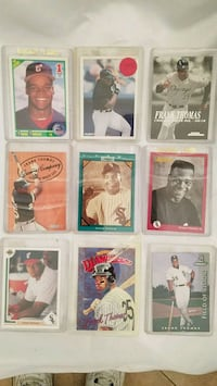 9 frank thomas baseball cards Henderson, 89014