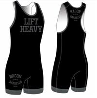 Bacon and barbells powerlifting singlet  Newmarket, L3Y 5A5