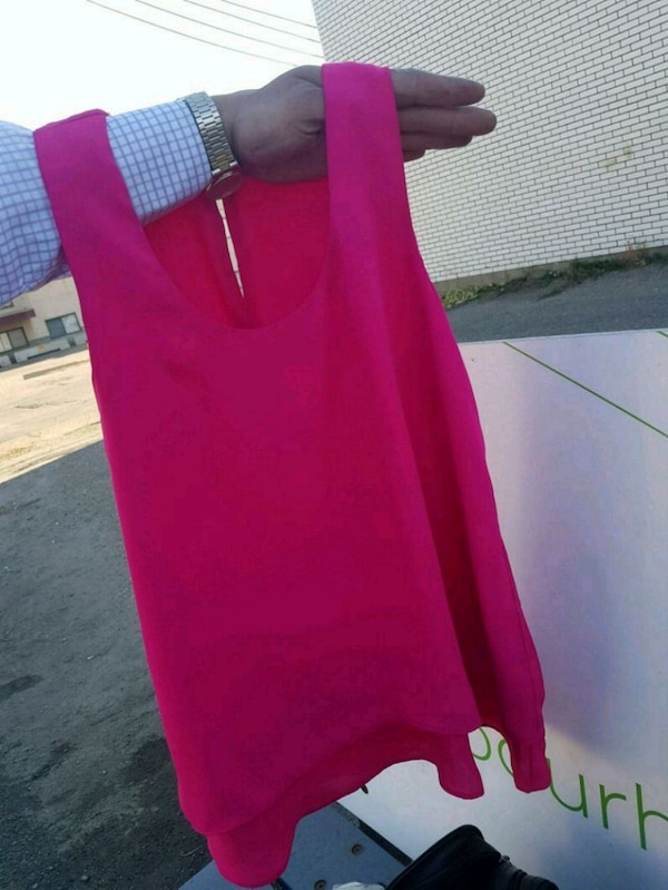 RICKIS pink sleeveless dress