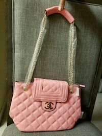 quilted pink leather tote bag West Palm Beach, 33415