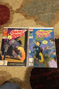 Ghost rider 1 and 2 Topsfield, 01983