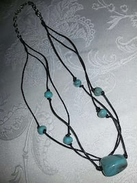 blue and black beaded necklace Portland, 97230