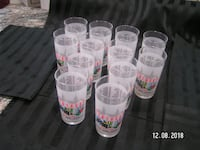 1991 Kentucky Derby Glasses  Sterling