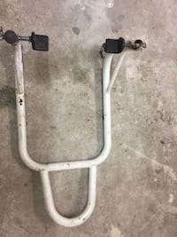 Sport bike rear wheel stand. Used but still works great.  Ingleside, 78362