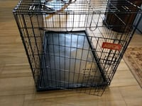 black ASPCA metal folding dog crate Phoenix, 85006