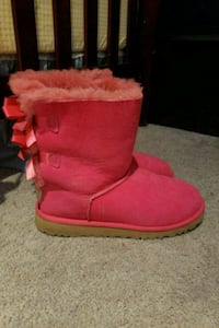 pair of red UGG boots Edmonton, T5L 3T4