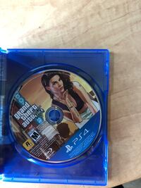 Grand Theft Auto Five PS4 game case Calgary, T2M 3G1