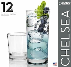 Chelsea anchor glass cups