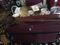 brown wooden 2-drawer chest Wappingers Falls, 12590