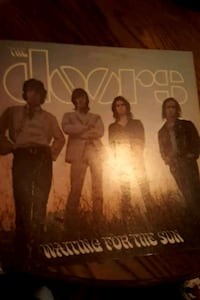 "The Doors ""Waiting for the Sun"" vinyl record La Plata, 20646"