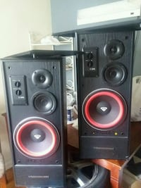 black and red subwoofer speaker Hyattsville, 20783