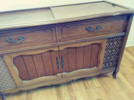 Antique tubed stereo record player