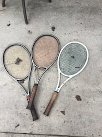two black and gray tennis rackets Hummelstown, 17036