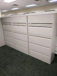 SALE on 5drawer lateral filing cabinets