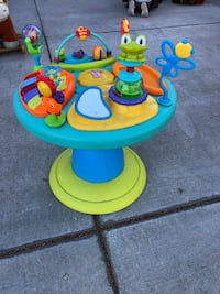 baby's blue and yellow activity table Merced, 95348