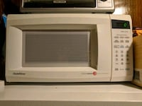white General Electric microwave oven Los Angeles, 90034
