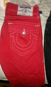 Red true religion jeans Toronto, M3J 0H4