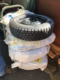 Winter Tires on Rims - Set of 4