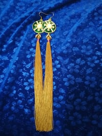 Fancy long tassel earring  Mumbai, 400064