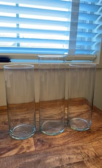 3 Glass Vases Annandale, 22003
