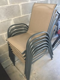 SET OF 6 Beige Outdoor Chairs! Charlotte, 28202