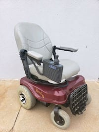 electric wheelchair, works great.