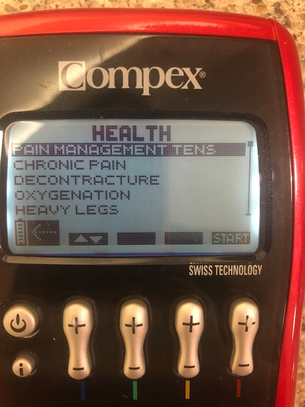 Compex sport Elite Muscle Stimulator TENS unit 8