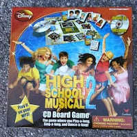 High School Musical Board Game with CD