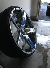 "26"" Dub Baller Wheels and Tires. GREAT CONDITION!!! Woodbridge"