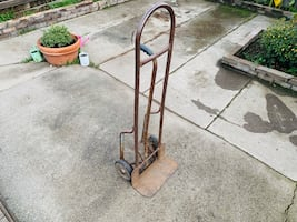 Eze off steel delivery hand truck