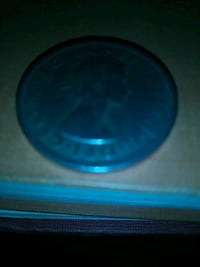 round blue and black plastic container Los Angeles, 90042