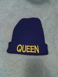 Black& Gold Queen Beanie Wichita, 67216