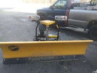 ((((2 FISHER PLOWS))) GREAT CONDITIONS Stoughton, 02072