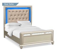 Bed and Vanity