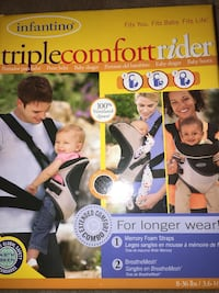 Infantino baby carrier,3 way
