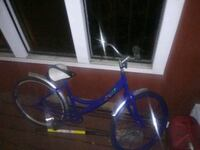 blue and gray beach cruiser full-suspension bike Birmingham, 35215