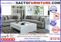 ONLY $39 DOWN! SACTO FURNITURE Sacramento, 95820