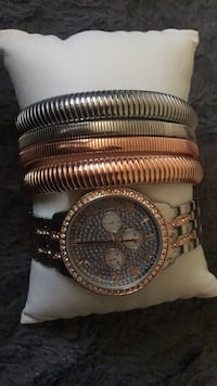 Brand new watch & 4 bangles Rockville, 20852