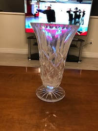 New Crystal glass flower vase Langley, V1M