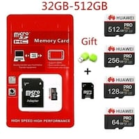 Huawei micro SD card PRO 32gig 514$655$4028 sms Montreal, H2C 2G4